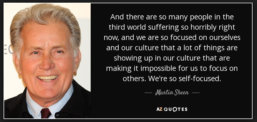 Martin Sheen is My President